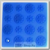 Подставка под горячее Цветы Regent inox Silicone 93-SI-CU-04.2, силикон, 17.8х17.8 см