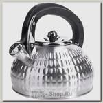 Чайник со свистком Mayer&Boch 28558 3.1 литра, серебристый