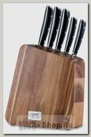 Набор кухонных ножей Gipfel Vilmarin 9926 5 предметов, в подставке