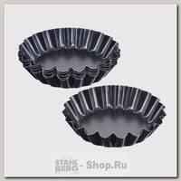 Набор форм для выпечки кексов SNB 99021 9 см, 6 штук