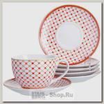 Чайный сервиз Loraine 28592 6 персон, 12 предметов