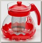 Заварочный чайник Mayer&Boch 26173-1 0.7 литра, красный