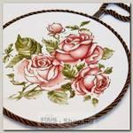 Подставка под горячее Loraine 24555 Розы, керамика, 17 см