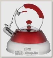 Чайник со свистком GiPFEL Moda 1153 2.7 литра, нержавеющая сталь