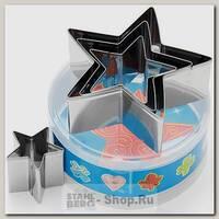 Набор форм для печенья Звезда Mayer&Boch MB-24000, 4 штуки