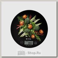 Весы кухонные VITEK VT-8006(BK), электронные