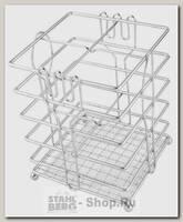 Подставка для столовых приборов Regent inox Trina 93-TR-05-05, сталь, 12х15 см