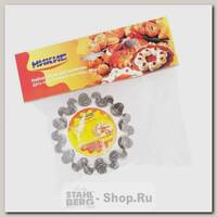 Набор форм для выпечки кексов Никис НФА-4д 6 штук