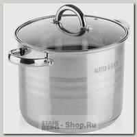 Кастрюля Mayer&Boch 27550-2 5.3 литра, нержавеющая сталь