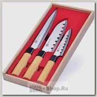 Набор кухонных ножей Mayer&Boch 28115, 3 предмета, бежевый