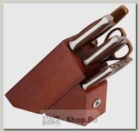 Набор кухонных ножей Stahlberg 6660-S, 15 предметов на подставке