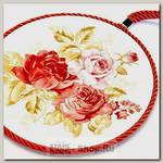 Подставка под горячее Loraine 24551 Розы, керамика, 17 см