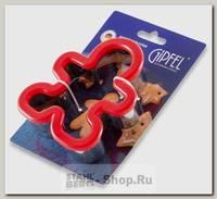 Форма для печенья GiPFEL Cookies 0361, нержавеющая сталь, 11х9х3 см