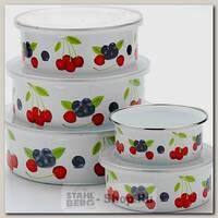 Набор контейнеров для хранения еды Mayer&Boch Вишня 23640, 5 предметов