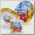 Набор детской посуды Loraine 27333 Авто, 3 предмета
