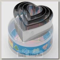 Набор форм для печенья Сердце Mayer&Boch MB-23997, 4 штуки