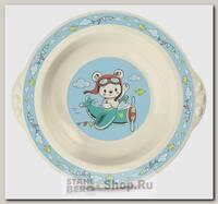 Тарелка суповая Бытпласт Пластишка 13047, полипропилен