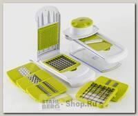 Овощерезка многофункциональная GiPFEL Sana 9750, со сменными ножами, 27х11х11 см