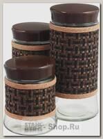 Набор банок для хранения Mayer&Boch 28732, стекло, 3 предмета