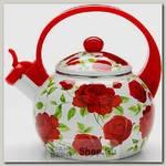 Эмалированный чайник со свистком Mayer&Boch MB-23864 2.2 литра