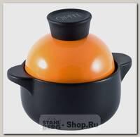 Мини-кастрюля GiPFEL Barbara 3877 0.6 литра, керамика, с крышкой
