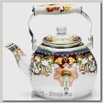 Чайник для кипячения воды Mayer&Boch Узор 26498 3 литра, разноцветный