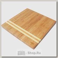 Доска разделочная BEKKER BK-9725, бамбук, 25х25 см